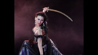 Princess Warrior - Sword bellydance - Amira Abdi 2013 hd