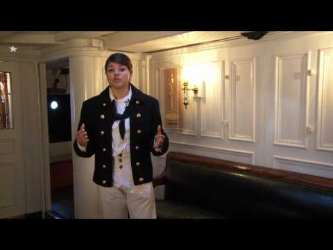 USS Constitution's Captain's Cabins