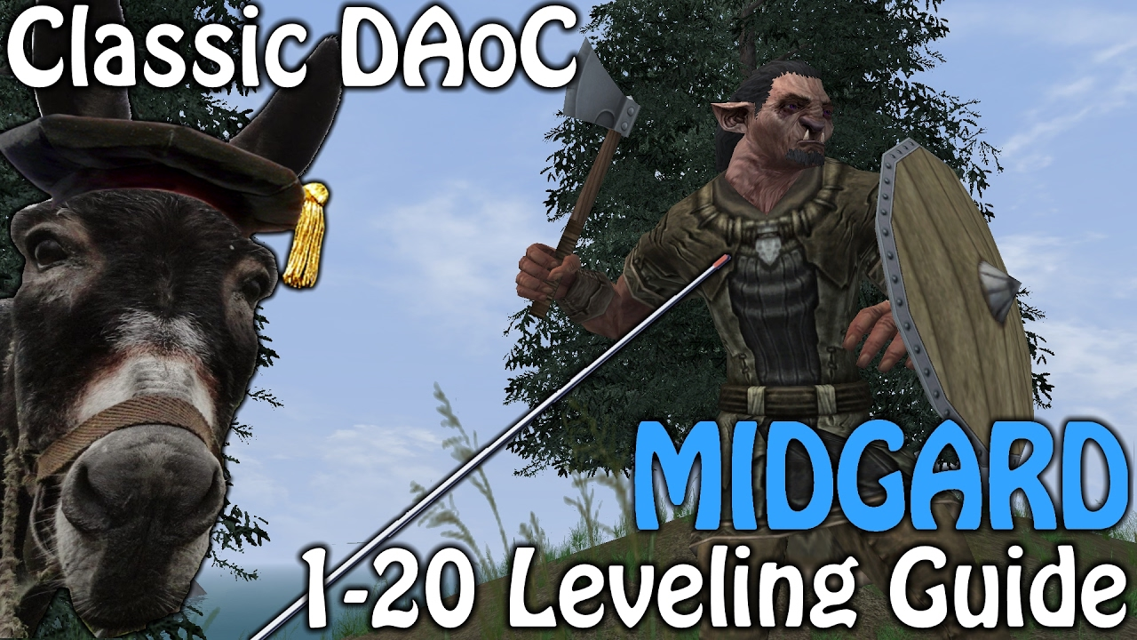 Uthgard • View topic - Video Guide - Midgard 1-20 Leveling Guide