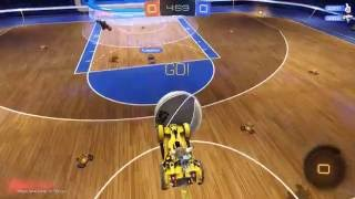 БАСКЕТБОЛ В ROCKET LEAGUE - НОВОЕ ОБНОВЛЕНИЕ ! ( ROCKET LEAGUE HOOPS )