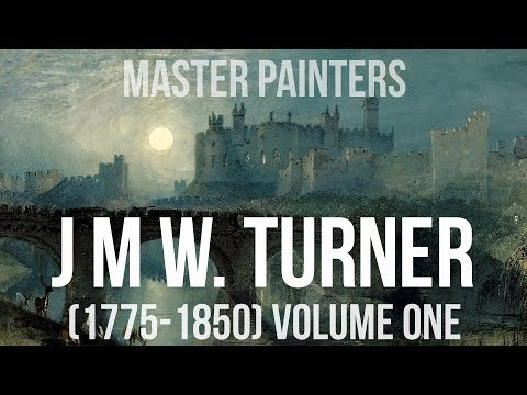 J M W Turner (1775-1850) volume one - a collection of paintings 4K