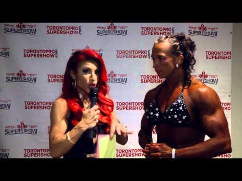 TPS 2015 - Nancy Di Nino interviews Vera Mikulcova - 2nd place Bodybuildng