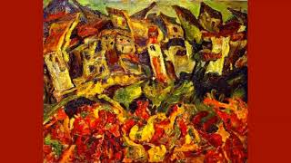 """Vianne sets up shop"" (Rachel Portman) [Chaim Soutine]"