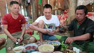 Bữa Cơm Mừng Nhà Có Trâu Mới | (Quà Vợ Chồng Bác Hiền Đào Gửi Tặng) ✦ Hoa Ban Tây Bắc