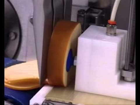 newtech - ultrasonic slicing of cheese