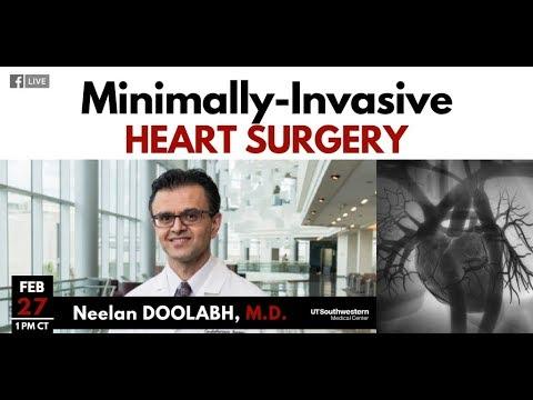 Ask the Expert: Minimally Invasive Heart Surgery