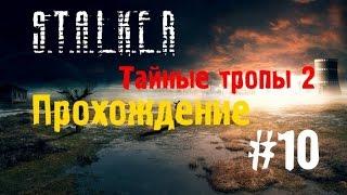 Сталкер Тайные Тропы 2 #10 [Лаборатория X-18 и Курьер Борова]