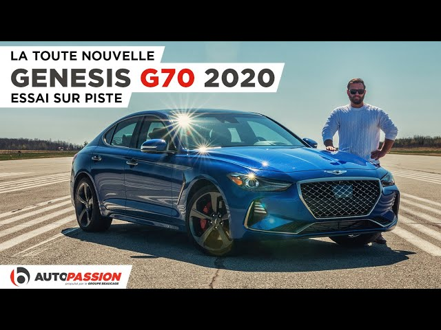 Genesis G70 2020 - La Meilleure Compacte de Luxe ? - Essai AutoPassion