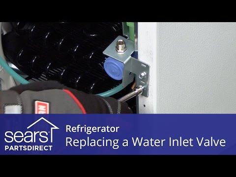 hook up waterline to fridge from sink