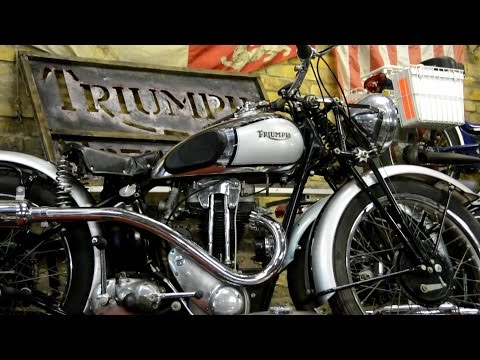 History of Triumph Motorcycles - Part 1