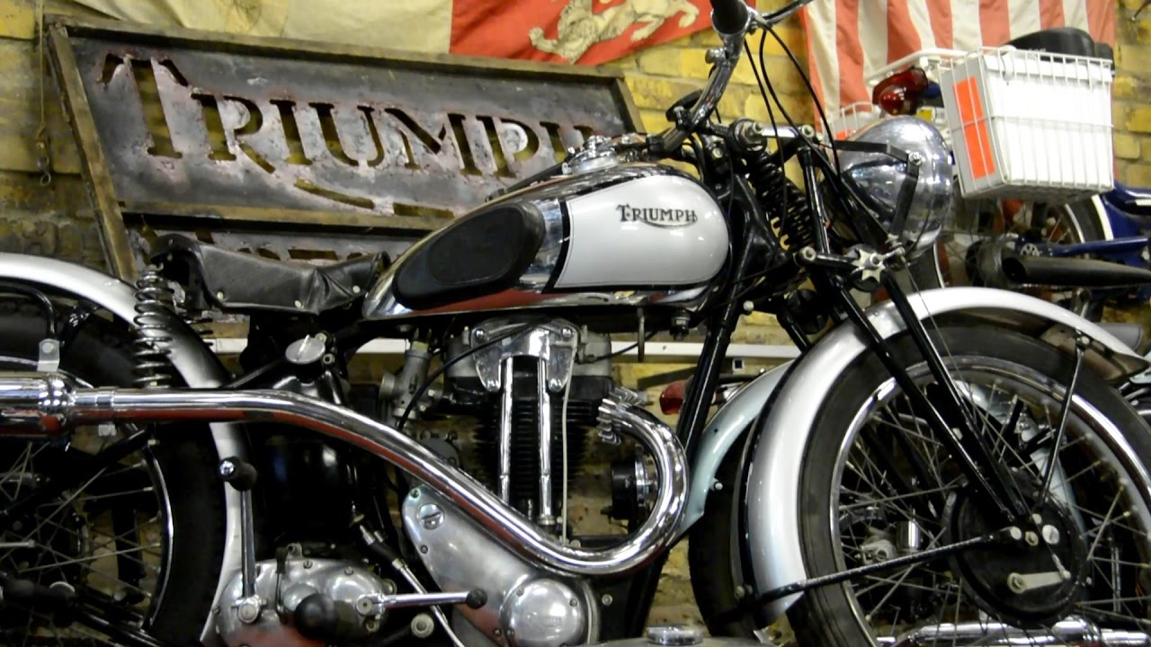 History Of Triumph Motorcycles Part 1
