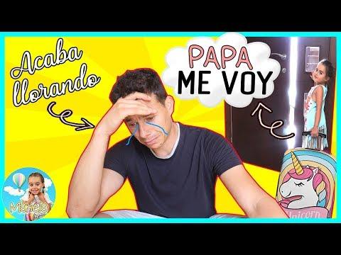 """ADIOS PAPÁ! ME VOY DE CASA 💔""""broma MUY Pesada"""" Mi PADRE Acaba LLORANDO 😢 Lo Pasa MUY MAL 😱 EP1"""