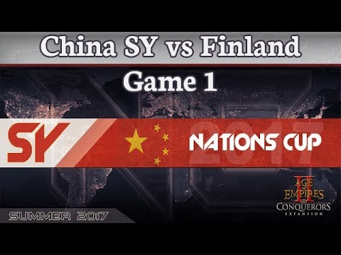 SY Nations Cup - China SY vs Finland - Game 1