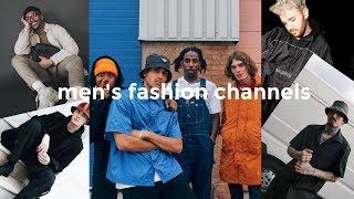 TOP 5 MEN'S FASHION CHANNELS | Men's fashion | Daniel Simmons