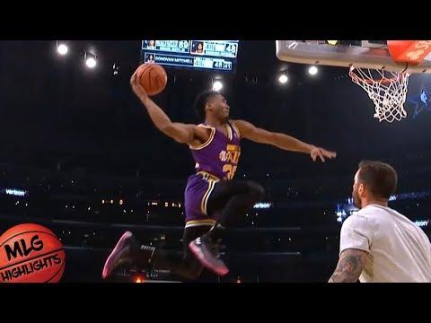 2018 Verizon Slam Dunk Contest - Second Round / Feb 17 / 2018 NBA All Star Weekend