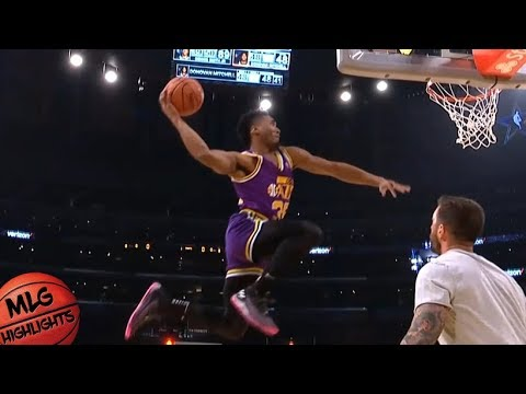 2018 Verizon Slam Dunk Contest – Second Round / Feb 17 / 2018 NBA All Star Weekend