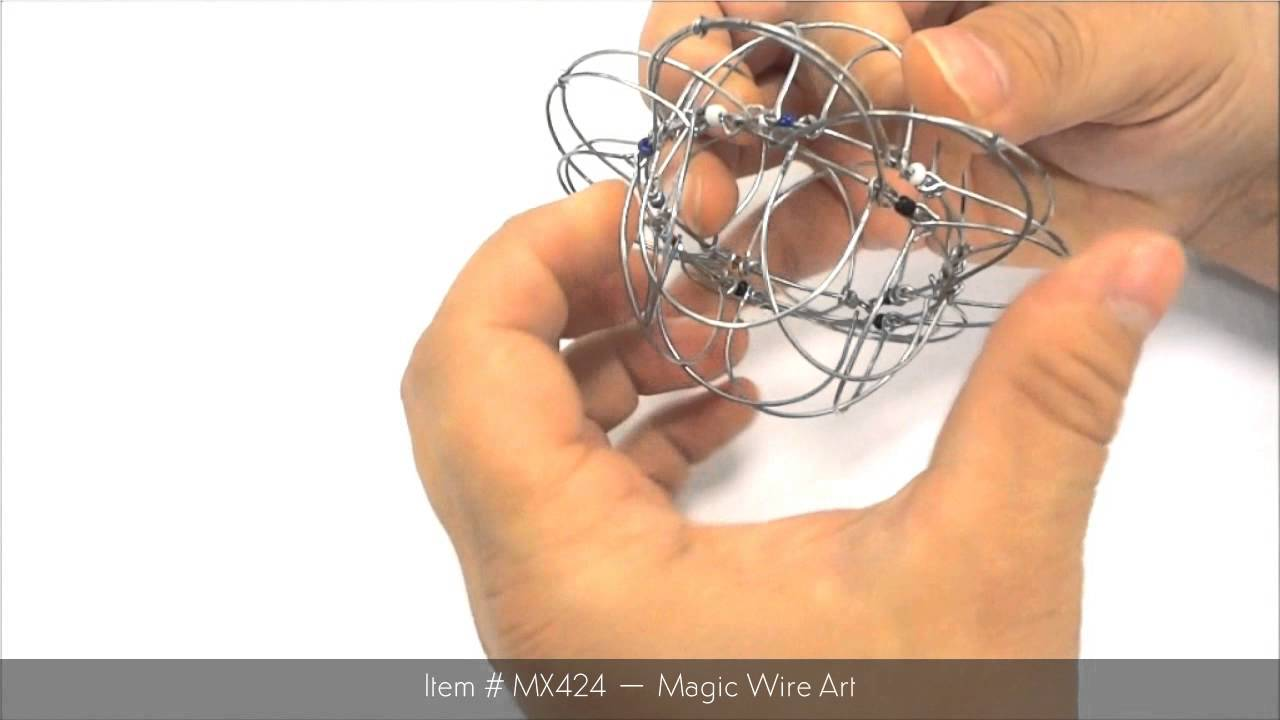 US Toy Company Product Demo - MX424 Magic Wire Art - YouTube