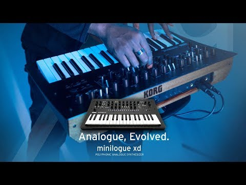 KORG minilogue xd: Analog Evolved