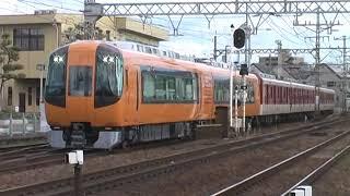 珍編成 近鉄16600系Aceと6620系で組成した回送列車