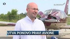 Utva ponovo pravi avione  ( Pravi Dnevnik 14. jul 2019. )