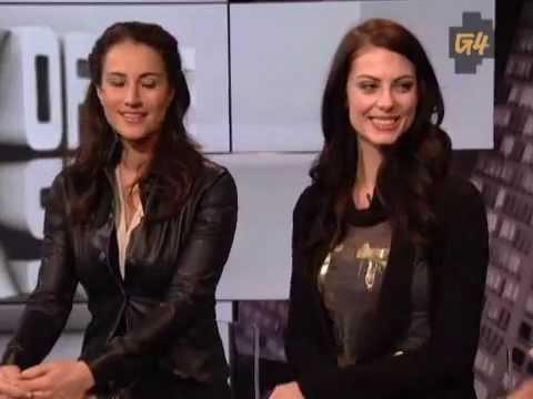 Julia Voth and America Olivo interview...
