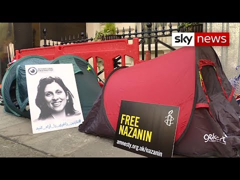 Nazanin Zaghari-Ratcliffe's husband on hunger strike