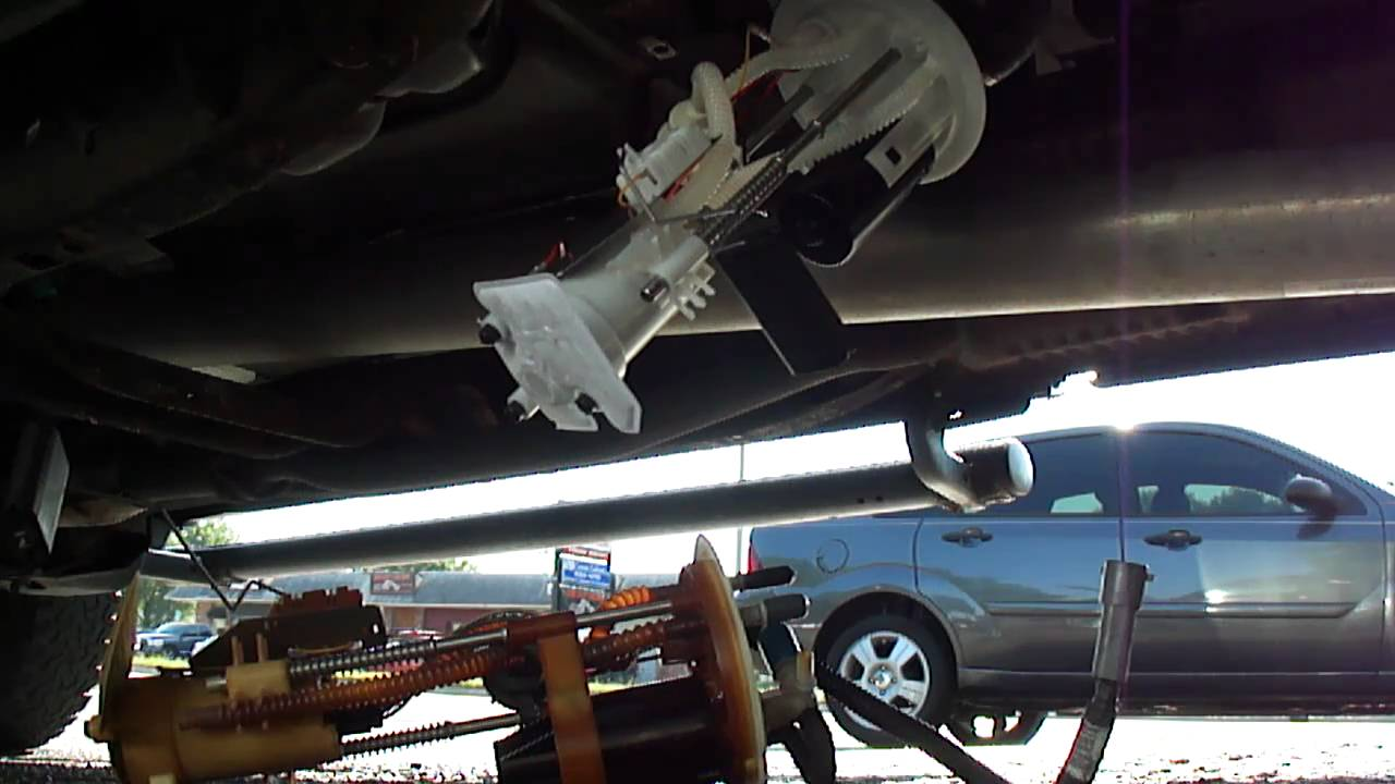 TESTING NEW FUEL PUMP ON 2003 FORD RANGER EDGE  YouTube