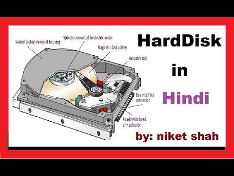 computer harddisk in hindi
