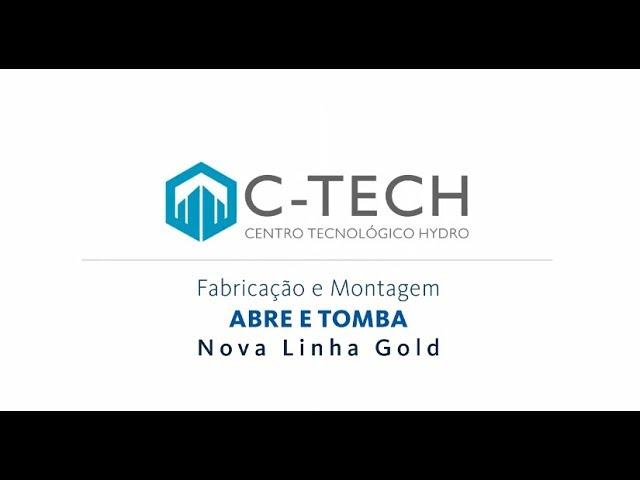 HYDRO Linha Nova Gold Janela - Abre e Tomba