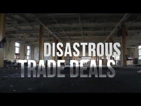 Disastrous Trade Deals | Bernie Sanders