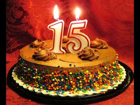 Поздравление с 15--летием от семьи/Поздравления