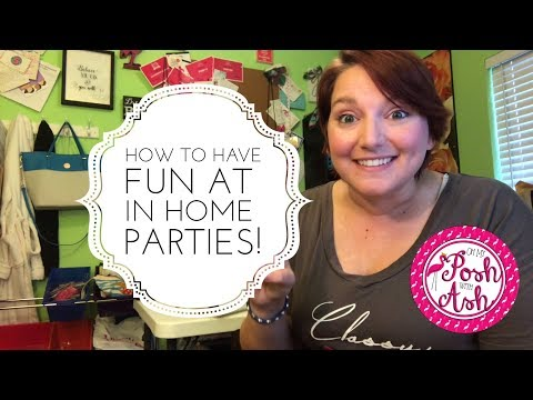 Perfectly Posh In Home Party Tips//Party Games