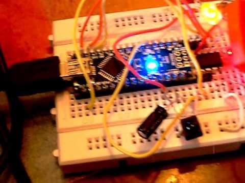 Aruduino Nano programs Super Mario song onto $1 ATiny85 microprocessor