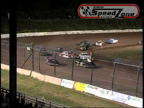 Oshkosh Speedzone Raceway - August 30, 2013 - Street Stock Feature