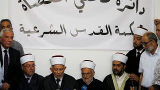 Muslim leaders in Jerusalem call for return to prayer at Al Aqsa mosque after Israel scales back…