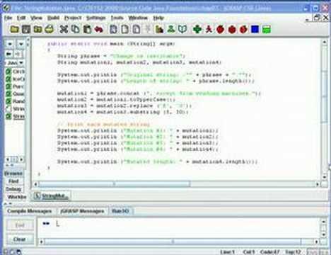 Java API & String Methods