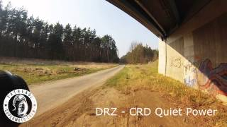 Our Bikes//Exhaust Check//Honda FMX + Suzuki DR-Z´s