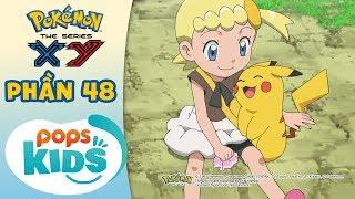 Tổng Hợp Hành Trình Thu Phục Pokémon Của Satoshi - Hoạt Hình Pokémon Tiếng Việt S17 XY - Phần 48