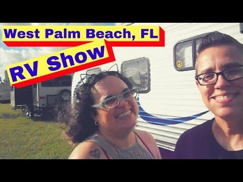 S1E3 ⁞ West Palm Beach RV Show ⁞ Travel Trailer Comparisons ⁞ Full-Time RV Life