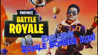 FORTNITE avec RezZaDude - ROYALE BOMBER SKIN!