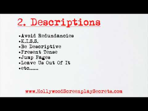 screenplay format part 1 of 2 youtube. Black Bedroom Furniture Sets. Home Design Ideas