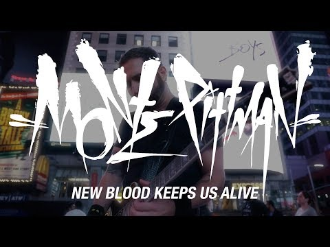 """Monte Pittman """"New Blood Keeps Us Alive"""" (OFFICIAL VIDEO)"""