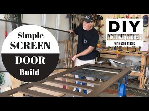 Simple Screen Door