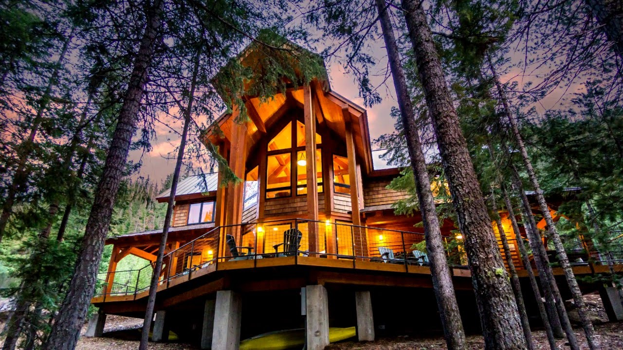 Charmant Lakeside East Cabin   Luxury Vacation Rental At Tumalo Lake, Just 12 Mi  From Downtown Bend, Oregon