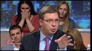 Izjava Aleksandra Vučića u emisiji ''Cirilica'' povodom pokušaja terorističkih napada u Crnoj Gori thumbnail