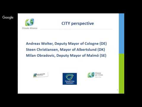 Climate Alliance: Teaming up local and national climate action in a governance perspective