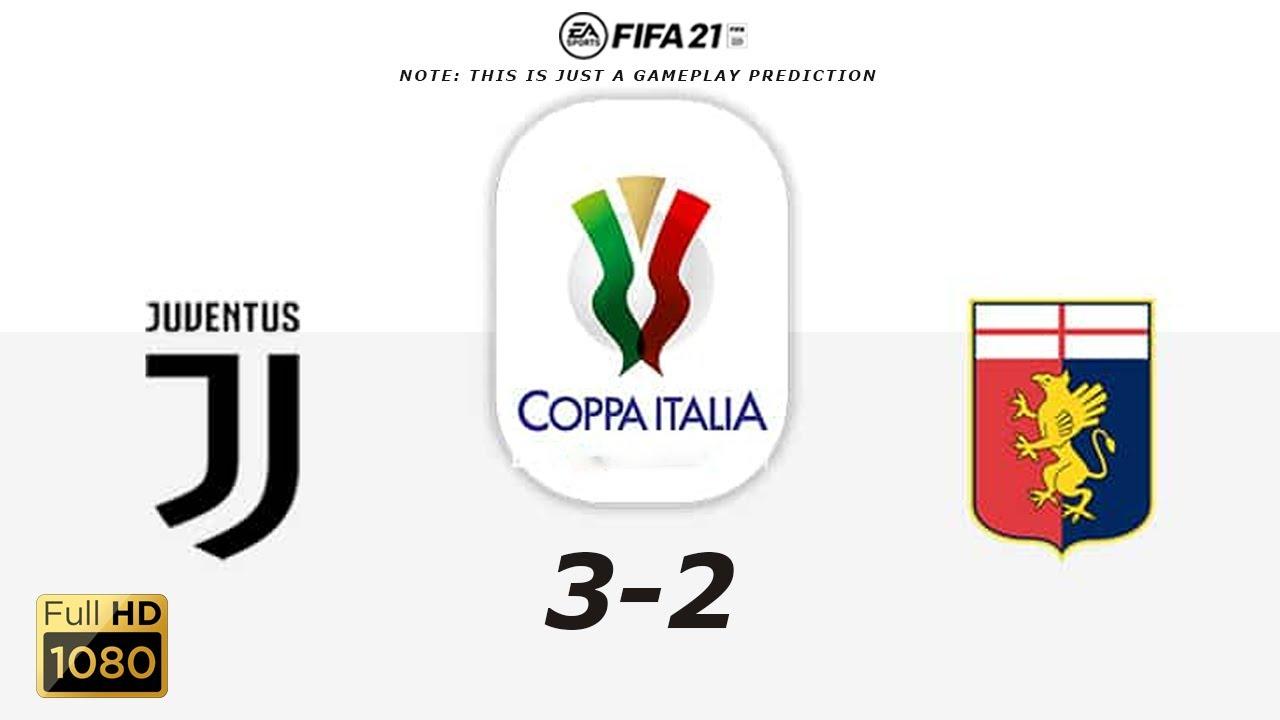 Juventus vs Genoa - Highlights - Coppa ...