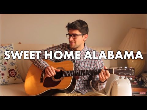 Sweet Home Alabama - Lynyrd Skynyrd (INSTRUMENTAL Fingerstyle guitar cover) [+ FREE TABs]
