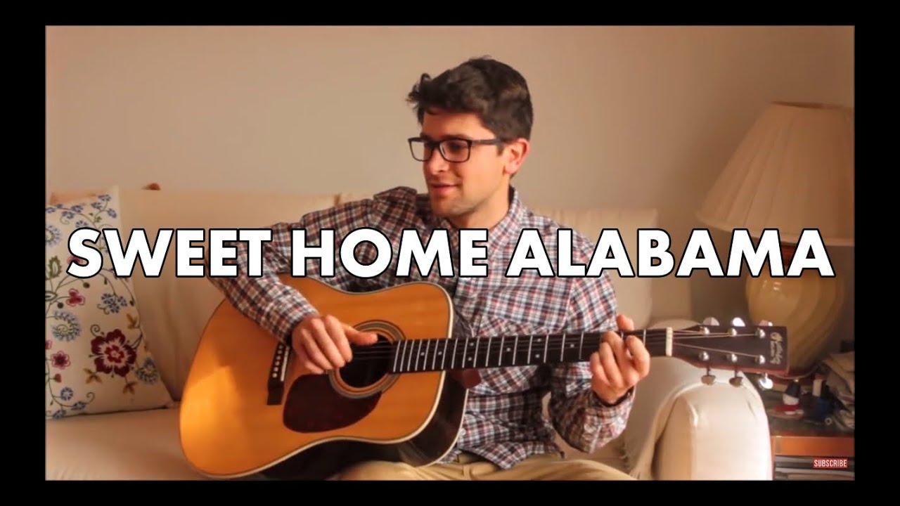Sweet Home Alabama Lynyrd Skynyrd Instrumental Fingerstyle Guitar Cover Tabs Youtube