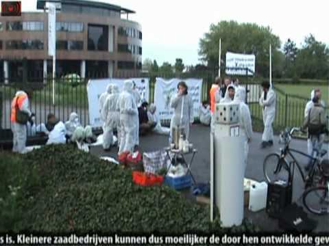 Monsanto Blockade.Seed The Truth.
